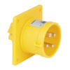 CEE 16A 110V 4p Socket Male Giallo, IP44
