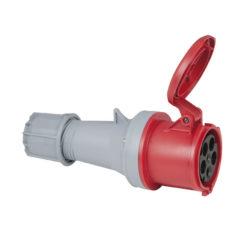 CEE 63A 400V 5p Plug Female Rosso, IP44