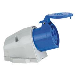 CEE Form 16A 3 Pin Wallmount Female Alloggiamento blu