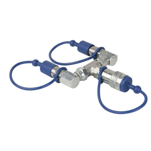 CO2 3/8 Q-Lock 2-way combiner