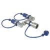 CO2 3/8 Q-Lock 2-way combiner