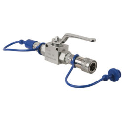 CO2 Q-Lock Shut-off valve