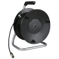 Cabledrum with 50m microphone cable
