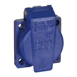 Chassis 230V/240V VDE Connector blu