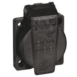 Chassis 230V/240V VDE Connector nero