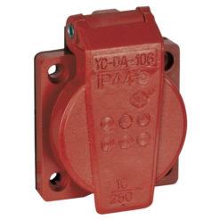 Chassis 230V/240V VDE Connector rosso