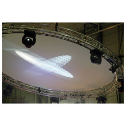 Circle Cloth White Per cerchio da 3 m