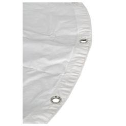 Circle Cloth White Per cerchio da 4 m