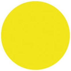 Colour Sheet 122 x 55 cm Giallo