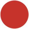 Colour Sheet 122 x 55 cm Rosso vivo