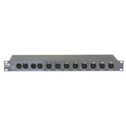 DB-1-8/RDM Booster DMX, 8 canali, con XLR a 3 poli RDM