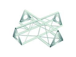 DECOTRUSS SAC-41 crossing 4-way silver