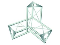 DECOTRUSS SAL-32 Corner 3-Way / left sil