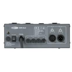 DIM-4LC 4 canali, 3A per canale, pacco dimmer con controllo locale