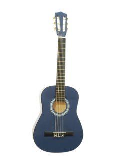 DIMAVERY AC-303 Classical Guitar 1/2, blue