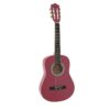 DIMAVERY AC-303 Classical Guitar 1/2, pink