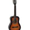 DIMAVERY AC-303 Classical Guitar 1/2 sunburst