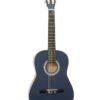 DIMAVERY AC-303 Classical Guitar 3/4, blue