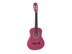 DIMAVERY AC-303 Classical Guitar 3/4, pink