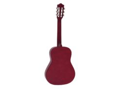 DIMAVERY AC-303 Classical Guitar 3/4, red