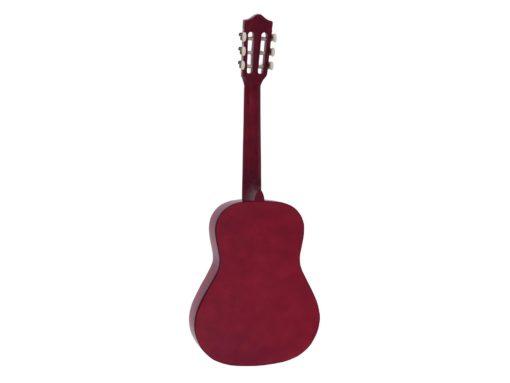 DIMAVERY AC-303 Classical Guitar 3/4, red