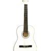 DIMAVERY AC-303 Classical Guitar 3/4, white