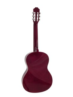 DIMAVERY AC-303 Classical Guitar, red