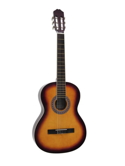 DIMAVERY AC-303 Classical Guitar, sunburst