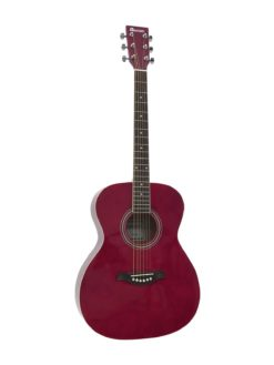 DIMAVERY AW-303 Western guitar red
