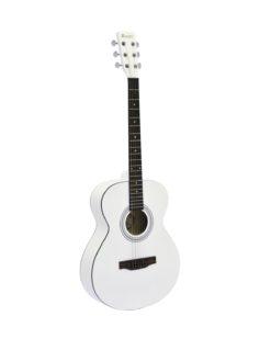 DIMAVERY AW-303 Western guitar white