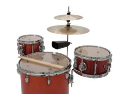 DIMAVERY CDS Cocktail Drum set, orangeburst