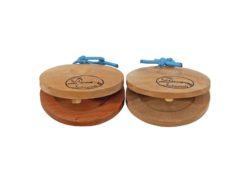 DIMAVERY Castanets, wood 2x