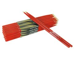 DIMAVERY DDS-5A Drumsticks, maple, red