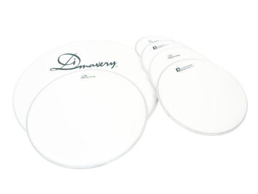 DIMAVERY DH-12 Drumhead, white