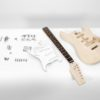 DIMAVERY DIY ST-10 Guitar construction kit