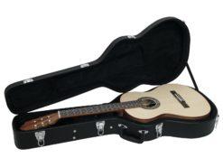 DIMAVERY Form case classical guitar, black