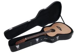 DIMAVERY Form case western guitar, black