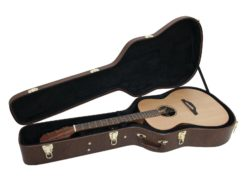 DIMAVERY Form case western guitar, brown