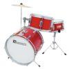 DIMAVERY JDS-203 Kids Drum Set, red