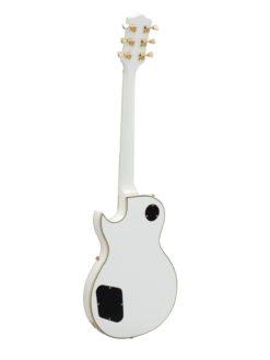 DIMAVERY LP-520 E-Guitar, white/gold