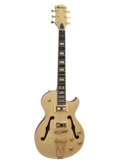 DIMAVERY LP-600 E-Guitar, nature maple