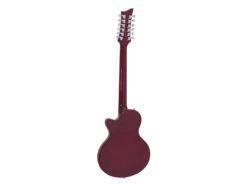 DIMAVERY LP-612 E-Guitar, flamed sunburst