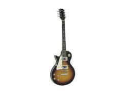 DIMAVERY LP-700L E-Guitar, LH, sunburst