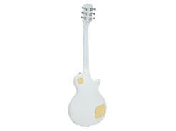 DIMAVERY LP-700L E-Guitar, LH, white