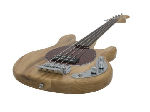 DIMAVERY MM-501 E-Bass, fretless, nature