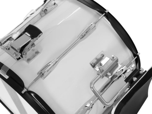 DIMAVERY MS-300 Marching-Snare, white