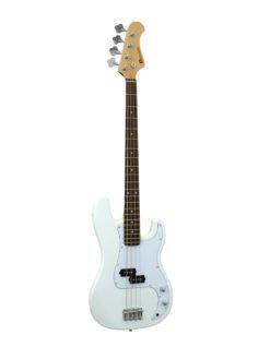 DIMAVERY PB-320 E-Bass, white