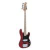 DIMAVERY PB-550 E-Bass, rot
