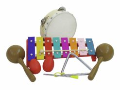 DIMAVERY Percussion-Set III, 7 parts