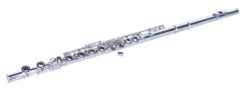 DIMAVERY QP-10 C Flute, silver-plated